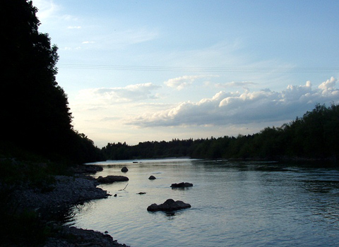 Isar in Lenggries